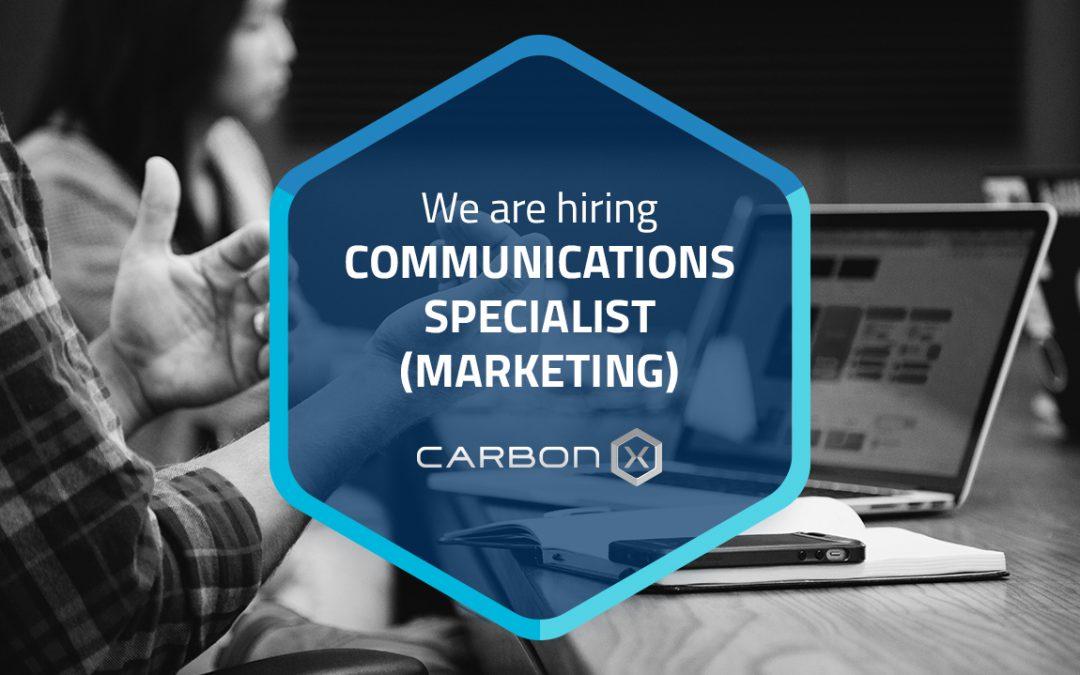Communications Specialist (Marketing)