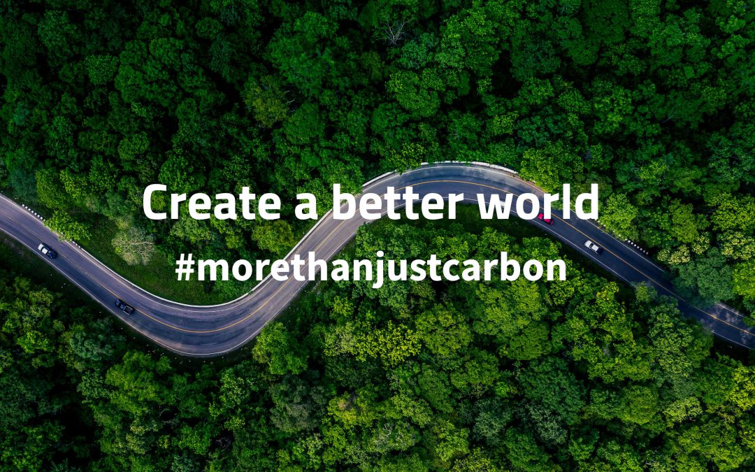 Join us creating a better world – #morethanjustcarbon