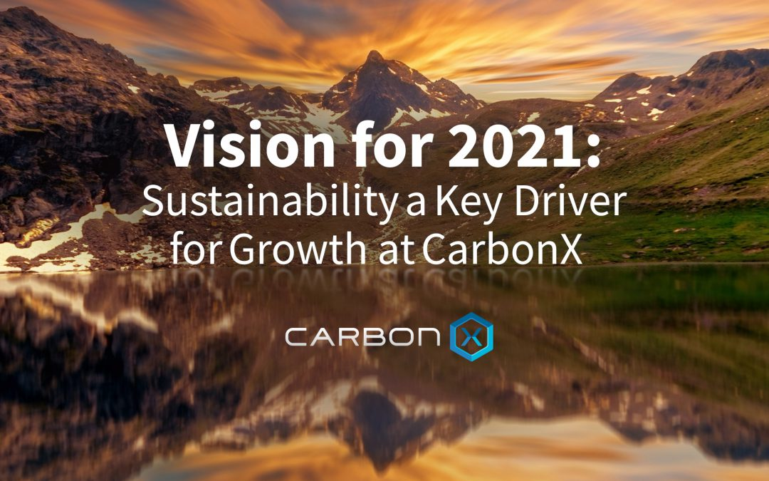 Vision for 2021:SustainabilityaKey DriverforGrowth atCarbonX
